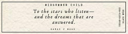 Sarah J Maas Quote Candle