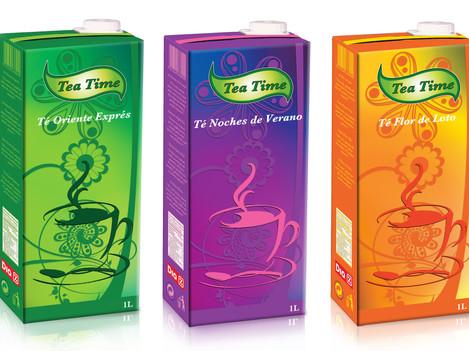 Línea de sabores Tea Time