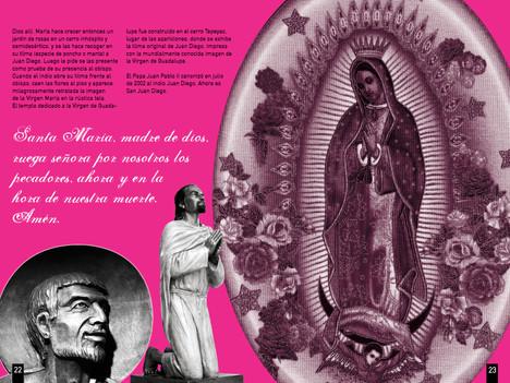 Santa María, madre de dios, ruega señora por nosotros los pecadores, ahora y en la hora de nuestra muerte. Amén.