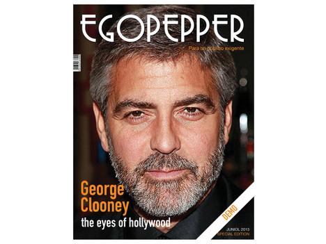 Portada George Clooney