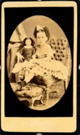 Alberto Henschel & Cª Criança não identificada [do álbum da família Assis Brito] Recife, Pernambuco Carte de visite