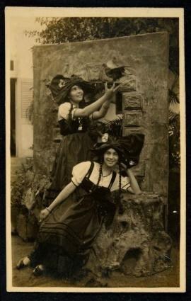 Autor não identificado Sofhia e Leo  Foto Postal