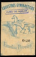 Equestres Gymnasticos, Família Pereira Crianças não identificadas Pernambuco  Carte de visite