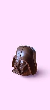 Milk chocolate Darth Vader.