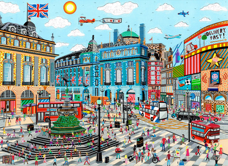 Piccadilly Circus 2020 commission