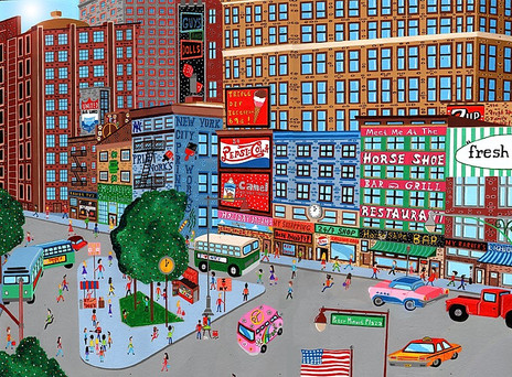 Manhattan in the 60's