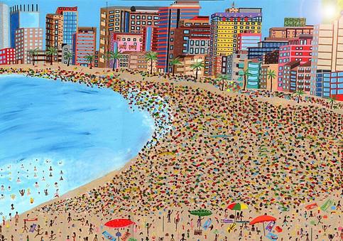 Copacabana Beach, Rio, Brazil