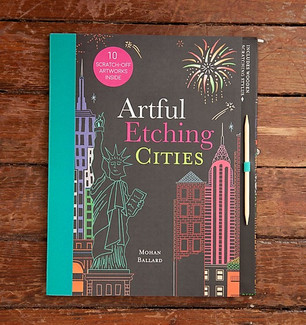 Artful Etchings Illustrated book