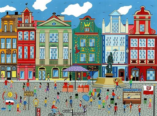 Poznan Square, Poland