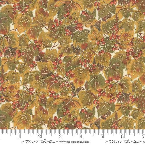 Arboretum Metallic by Moda - Cream 33532-11M