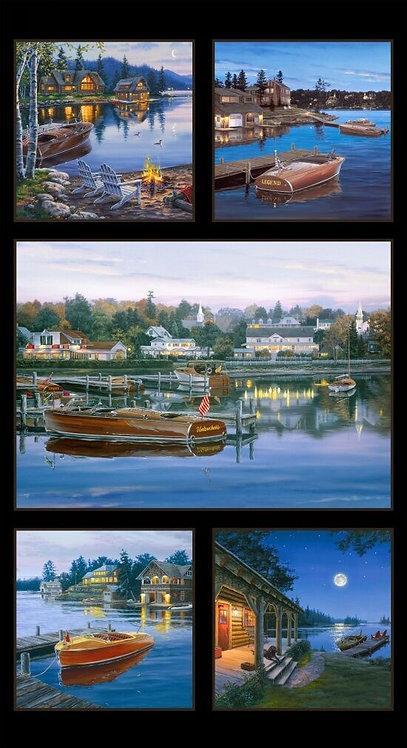 Classic Boats - Panel