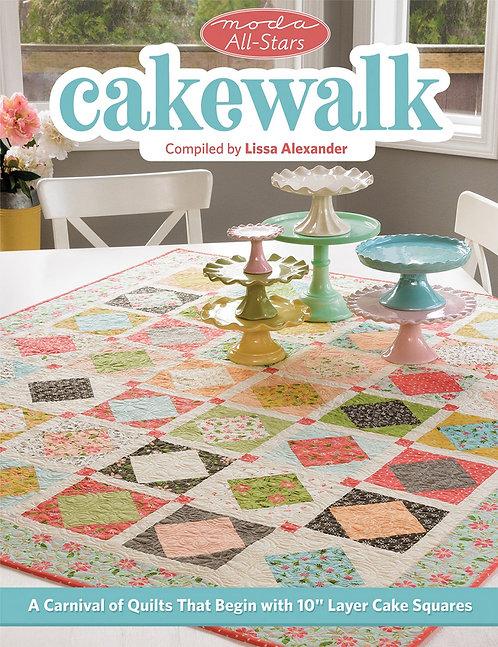 Cakewalk Pattern Book by Lissa Alexander for Moda
