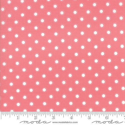 Bloomington by Lella Boutique for Moda - Polka Dots - Rose 5114-14