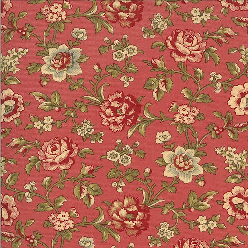 La Rose Rouge by French General for Moda - Faded Red 513883-12