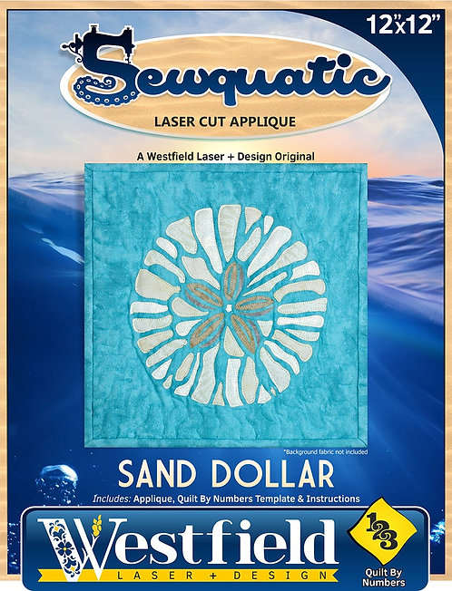 Sand Dollar Laser Cut Applique Kit