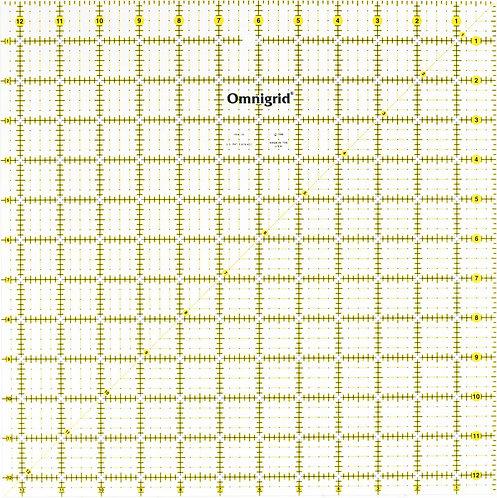 "Omnigrid 12.5"" Square Ruler - OMR125"