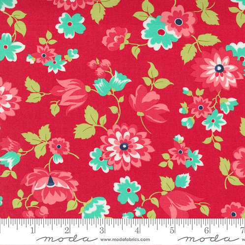 Shine On by Bonnie Camille for Moda - Blossom Red 55211-11