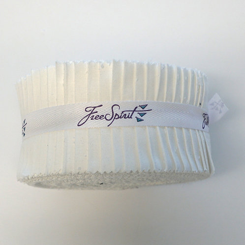 Designer Essentials Solids Jelly Roll - Arctic White