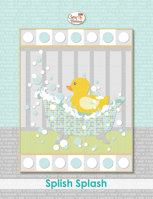 Splish Splash Wall Hanging Kit