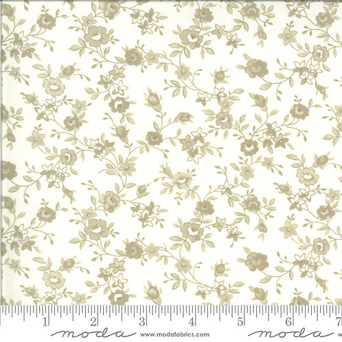 Roselyn by Minick & Simpson for Moda -  Ivory 514912-16