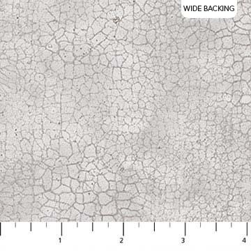 Crackle by Northcott Wideback - Lt Grey