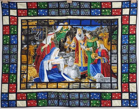 "The Nativity 43"" x 51.5"""