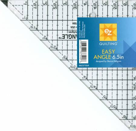 """Easy Angle 6.5"""" Ruler - EZ Quilting"""