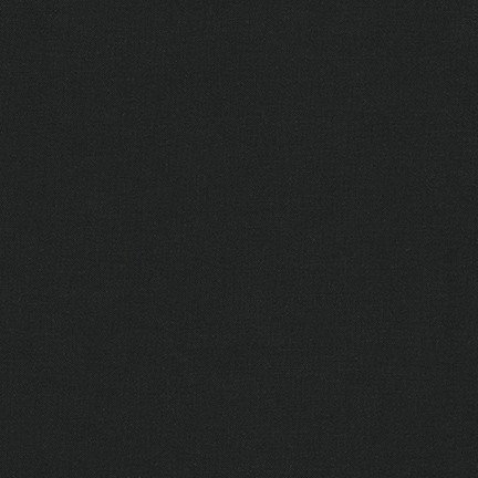 Kona Cotton Solids - Black