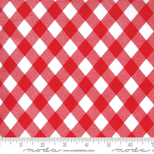 Sunday Stroll - Bonnie Camille for Moda - Red on White 55227-12