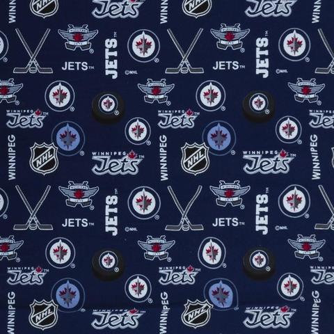 NFL Flannel - Winnipeg Jets - Blue 173-JET