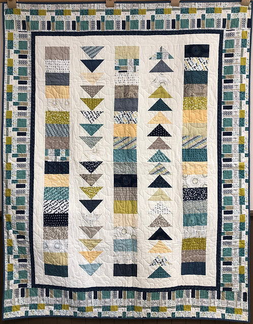 """Coming Home Quilt - 58.5"""" x 73.5"""""""