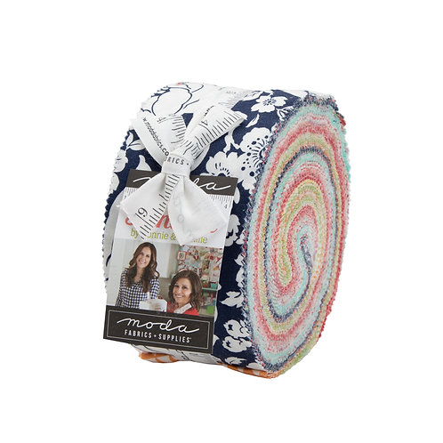 Shine On Jelly Roll (40pc) by Bonnie Camille for Moda - JR55210