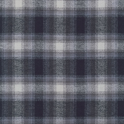 Mammoth Flannel by Robert Kaufman Fabrics - 13933-12 Grey