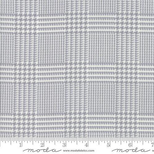 Farmhouse Flannels II by Moda - Cream Steel 549100F-17