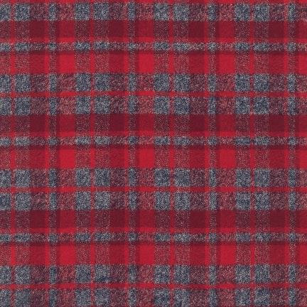 Mammoth Flannel Scarf Kit - 13927-3 Red