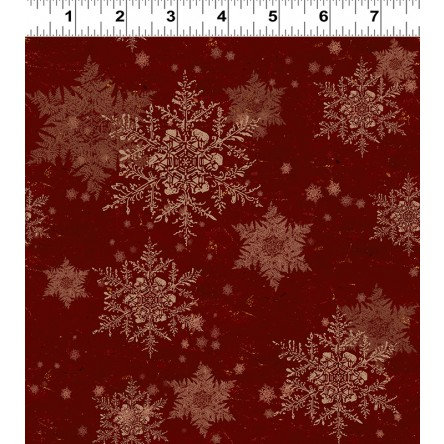 Let Nature Sing by Clothworks - Dk Red Y2986-83