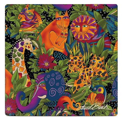 Laurel Burch Coasters by Monarque - Secret Jungle