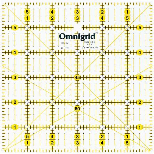"""Omnigrid 6"""" Square Ruler - OG6A"""