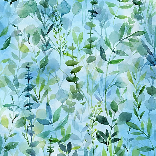 When in Wisteria by Hoffman - Blue 24816-7