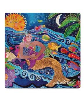 Laurel Burch Coasters by Monarque - Sea Goddess