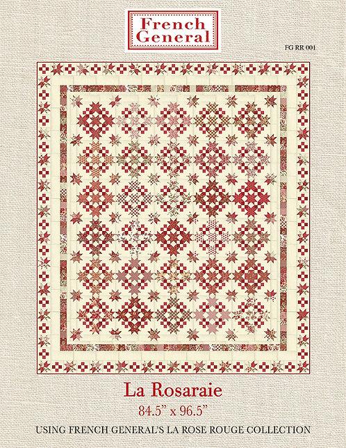 """La Rose Rouge Quilt Kit - by Moda (84"""" x 96"""") K13880"""