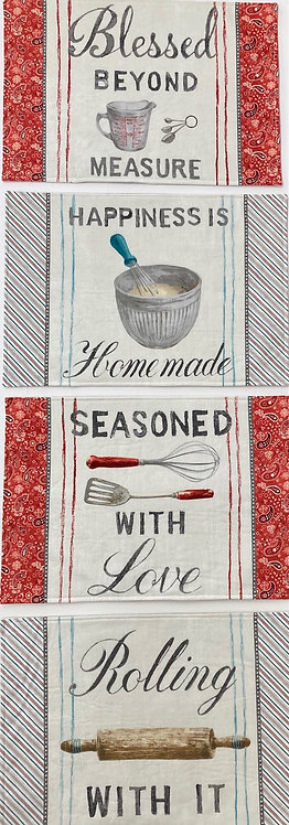 Homemade Happiness by Wilmington - PANEL 1077-89223-134