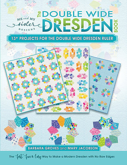 Double Wide Dresden Book by Me and My Sister Designs - D5101