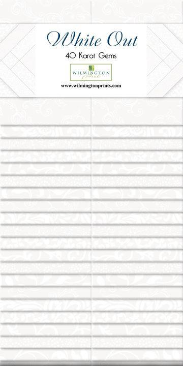 40 Karat Essentials Gems 40pc - White Out