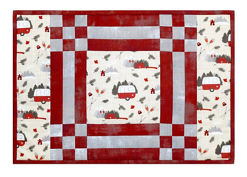 "North Country Placemat KIT by Quilter's Bouquet (4 mats 18"" x 12"") Binding Incl."