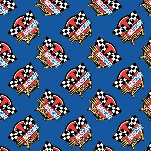 Nascar- Retro Racing - Camelot Fabrics - 39190106-Blue