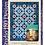"Thumbnail: Stormy Stars Quilt Pattern - 51"" x 69"