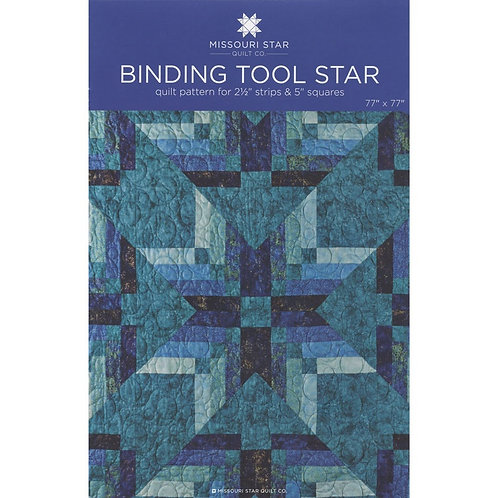 Binding Tool Star PATTERN by Missouri Star Quilt co - PAT932