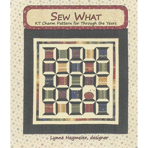 """Sew What Charm Wallhanging Pattern - 31"""" x 31"""""""