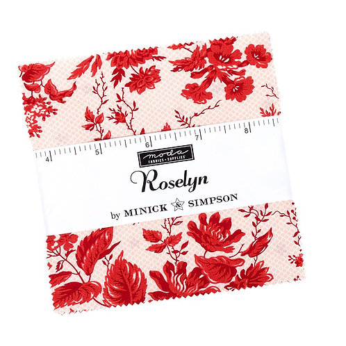 Roselyn Charms (42pc) by Minick & Simpson for Moda - PP14910